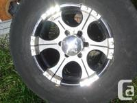 Wheels were on a 2004 GMC Canyon, here's a link for rim