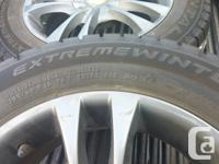 "$600 FIRM 4 - 16"" Continental (M+S) Winter Tires On"