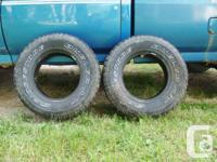 2- Bridgestone Dueller A/T P-265-70R16 111S 694 truck