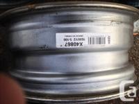 4 - Steel Rims - 16 X 6.5, 5-100. Model # X40867
