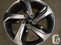 """I have 4 18"""" hyundai wheels that were on my veloster"""