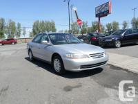 2002 HONDA ACCORD LX AUTOMATIC + AIR CONDITIONING