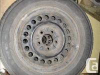 Very low mileage Nexen Dark Horse II-60 tires in very