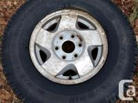 Only used for 3 trips to Charlottetown from home, tires