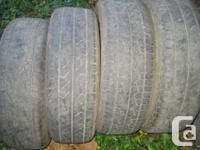 4 235 65R 17 all season Yokohama tires $ 60 for the