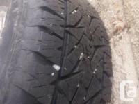 Nice wheel package 2005+ 8x170mm stock mags Bridgestone