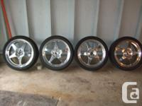 "4 - Centerline Forged"" Tornado"" wheels as well as Nexen"