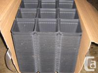 """I has more than 700 4"""" plastic plant pots available for"""