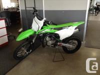 KX85 .Kawasaki�s intermediate KX85 motocross racer is