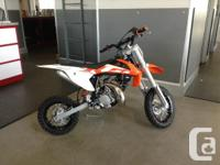 50SX . Fast Has No Age Limit The 50 SX is a true KTM