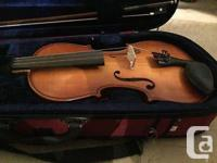 Selling my very well taken care of 4/4 violin plus