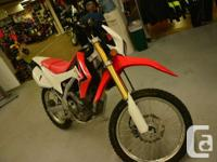 Great on & off road! one cyl, 4-stroke, chain-driven