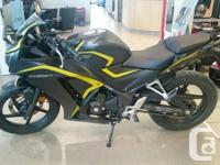 This CBR300RA is the PERFECT starter bike! Great for