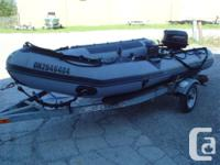 Very super condition large Zodiac powered by a 30