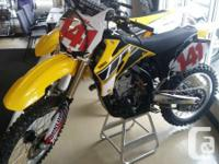 2006 Yamaha YZ450F 50th Anniversary EditionBike is in