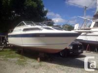 1986 24 feet Doral Citation (Great Starter Boat).