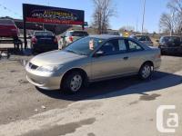 2004 Honda Civic SE: Fully loaded: A-C automatic