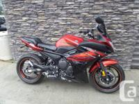 Sport TourerThe FZ6R fits perfectly into the less