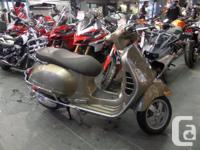 Includes Seat Cover, Great Colour !The Vespa GTS 300