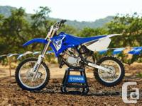 GREAT MINI RACERThe YZ85 is ready to race right out of
