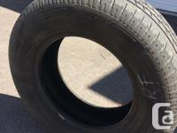4 Used all season tires for sale. Two of them are