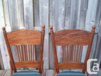 Used, 4 Antique Wood CHAIR, Decor End TABLES + Wagon   - 4 for sale  Ontario