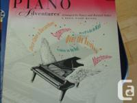 4 Piano playing books in perfect shape - most never