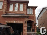 4 Bedroom semi home, full house (includes basement),