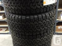 4 brand new 325/55/20 Bf Goodrich T/A Ko2 tires. These