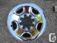 These are off a Chevy 2500 HD 4X4, they also come with