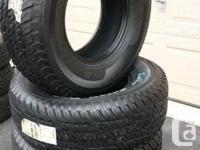 "I have a set of 4 new ""Kelly Safari Trex"" tires"