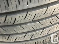I am selling 4 contiprocontact 225 45 R17 tires still