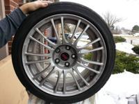 For sale - Four Dunlop Direzza DZ101 Summer Tires