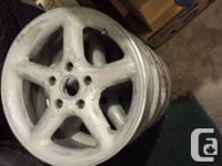 """4 rims 16"""" x 7"""" 5 x 4.5"""" or 114.3 bolt pattern Bought"""