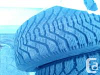 I have 4 Goodyear Nordiek winter tires on rims, simply