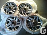 here we have a set of four GM Camaro Z-28 Rims off of a