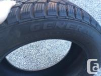4 General Tire Altimax Arctic (Winter tires) in nice