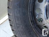 General Tire Altimax Arctic with Rims 195/65 R15 91Q