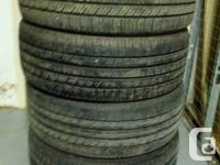 4 Goodyear Eagle RS-A 235/50R18 tires in really good