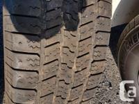 4 Goodyear Wrangler SR-A Tires. Designed for Pickups,