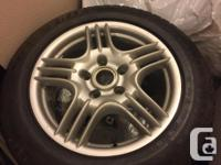 Make Porsche Colour Silver Rims TIRES Rims: -5x130 bolt