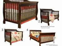 I'm selling a brand new 4-in-1 convertible crib which I