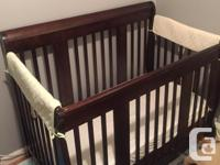 This is a great crib. From a pet free, smoke free home.