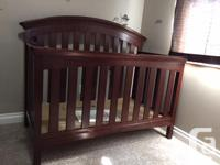 Delta's 4- in-1 Convertible Crib is the ultimate for a