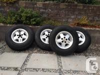 4 FIRESTONE WINTER FORCE studded snow tires  P235/75