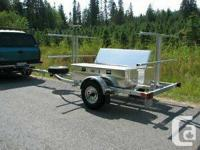 New North Woods Sport Trailers 4-place canoe / 8-place