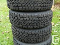 4 GM winter snow tires & rims M&S 175/65R 14 Arctic