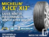 4 Michelin 175/65R14 X-ICE Snow Tires, not on rims,