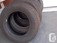 """4 Michelin """"Lattitude"""" all season tires for sale."""
