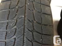 4 Micheling X-Ice 205x65R15 Winter tires in good